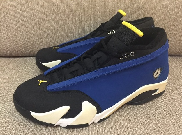 398ee3811233fc Air Jordan 14 (XIV) Retro Low Color  Varsity Royal Varsity Maize-Black-White  Style  807511-405. Release Date  10 03 2015. Price   170.00