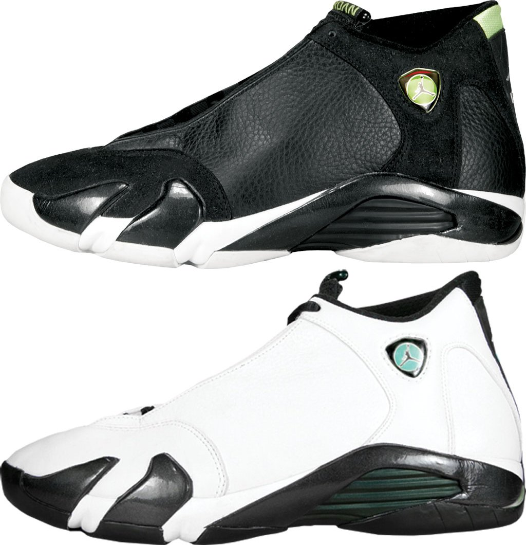 eebf3aded77 Air Jordan 14 OG Indiglo and Oxidized Green Colorways in 2016 - Air ...