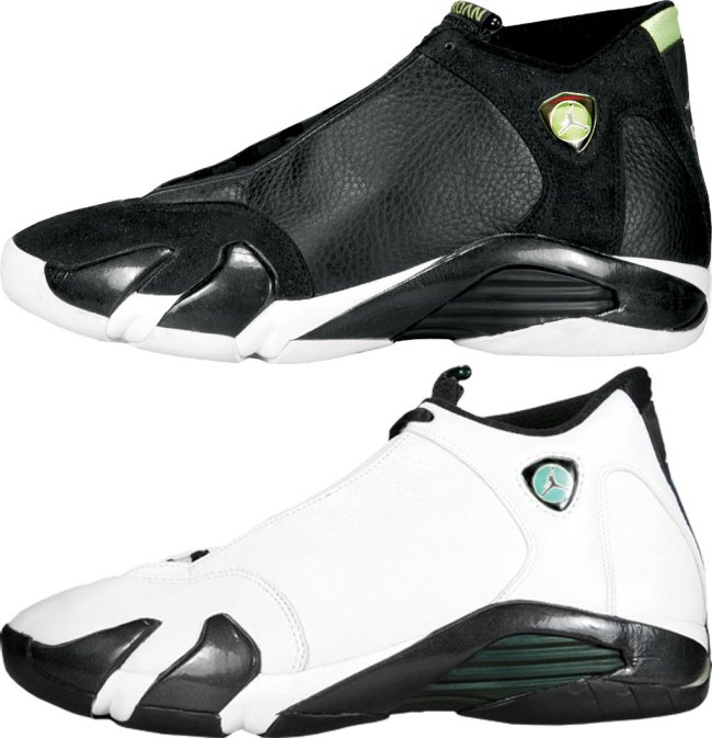 air jordan 14 og indiglo and oxidized green