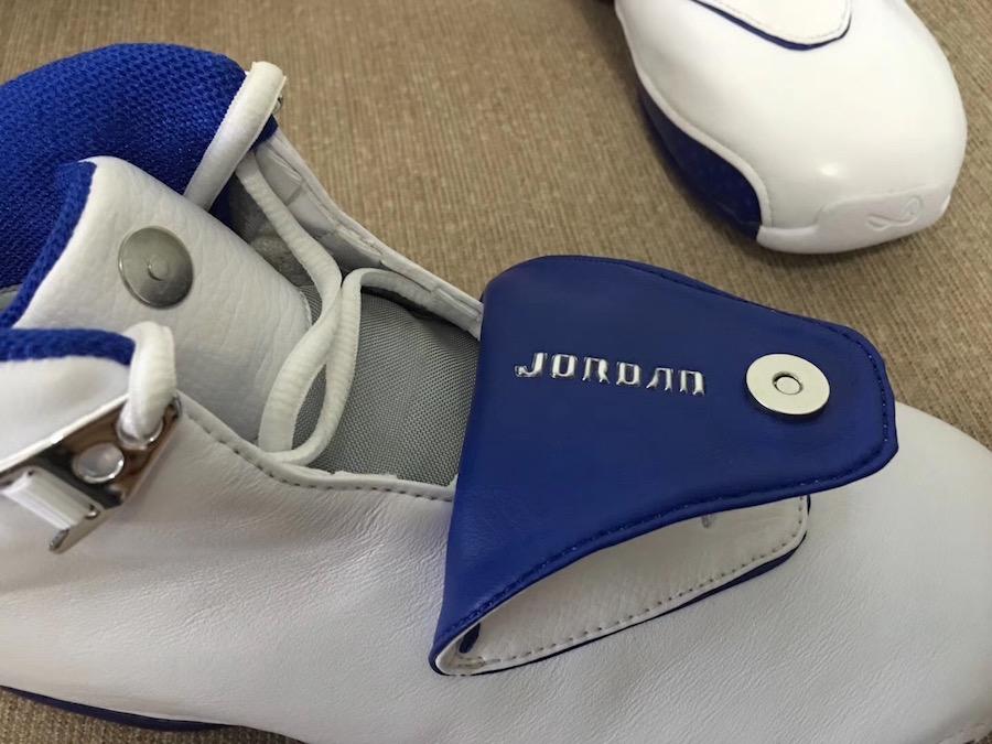 new concept 724c4 80246 2003 Nike Air Jordan XVIII 18 White Metallic Silver-Royal 305869-101 SZ12