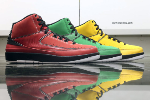 pretty nice 730b6 3647b New Nike Air Jordan Retro 2 II QF 10.5 Varsity Red 395709-601 Candy Pack  Black