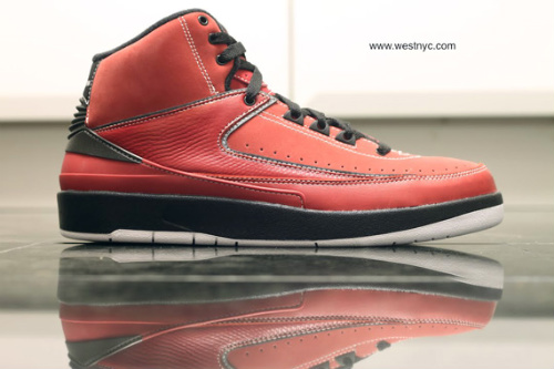 pretty nice 67b12 ebf20 New Nike Air Jordan Retro 2 II QF 10.5 Varsity Red 395709-601 Candy Pack  Black