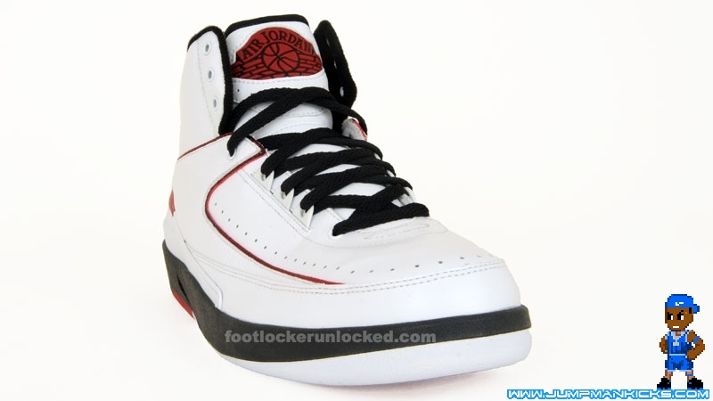 new style 37084 22dd5 Air Jordan 2 (II) Retro Color  White Black-Varsity Red Release  03 11 2010