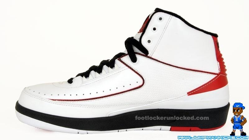 size 40 91ecc 19f6a Mens Air Jordan 2 Retro Low White Varsity Red Black 832819 101 Chicago Nike  II