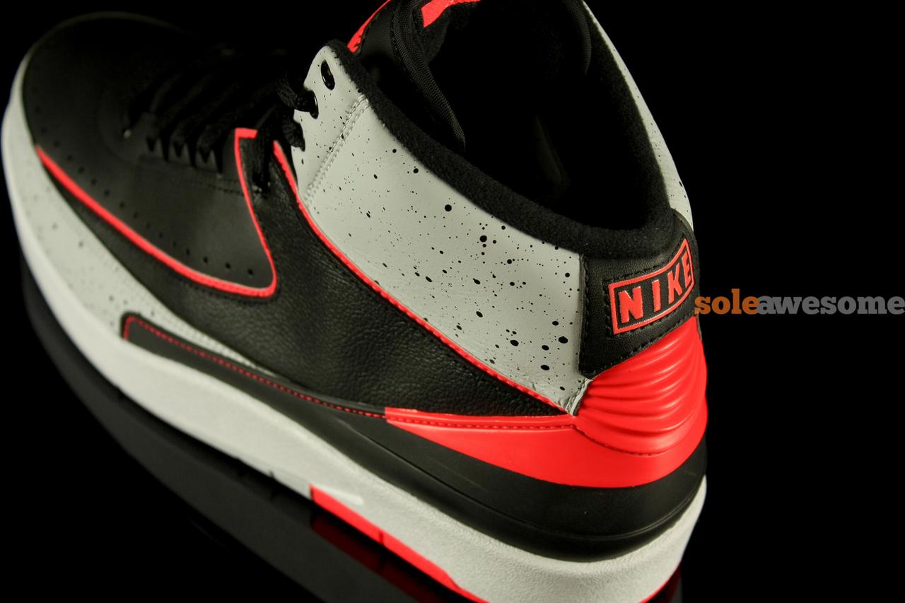 huge discount 76645 502a8 Air Jordan II Retro Black Infrared 23 - New Images