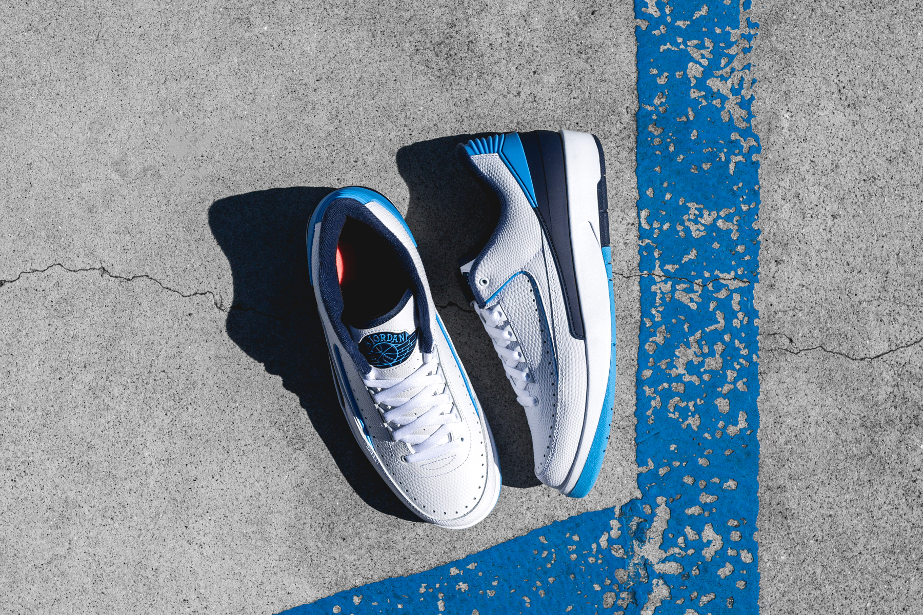 2bbb95ef081 Air Jordan 2 Retro Low UNC - Air 23 - Air Jordan Release Dates, Foamposite,  Air Max, and More