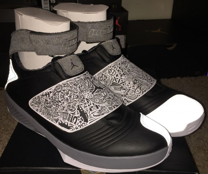 on sale 55bb1 43b3e Air Jordan 20 (XX) Color  Black White-Cool Grey Style  310455-003. Release   05    2015. Price   220.00