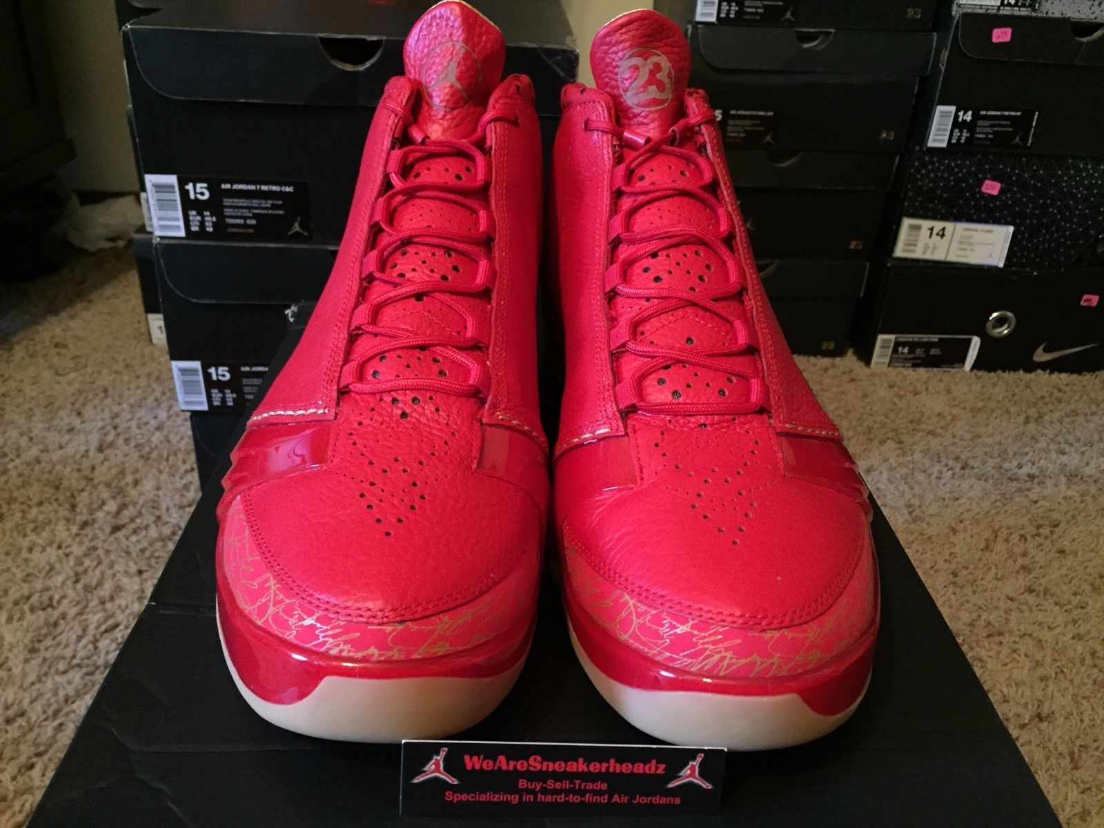 quality design 86dff 6800c Air Jordan XX3 (23) Chicago Color  University Red University Red-Gum Yellow  Style  811645-650