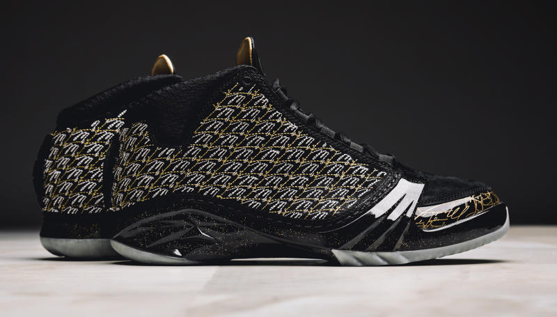Nike Air Jordan 23 XX3 Retro Trophy Room Black-Metallic Gold 10.5 [853336-023]