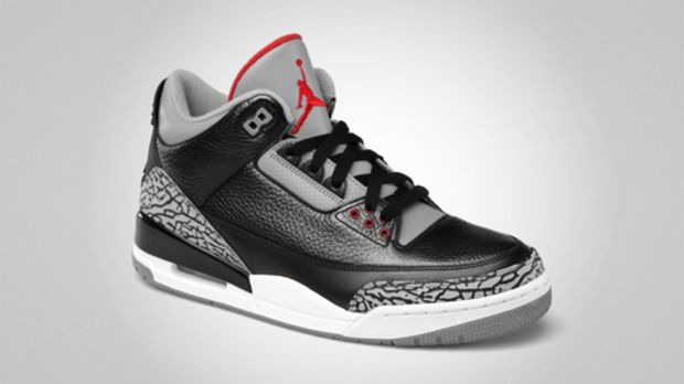 78ef84c4daf ... Jordan Brand just released a few official images of the  highly-anticipated Black/Cement Grey Air Jordan IIIs. They will release in  stores on November 25 ...