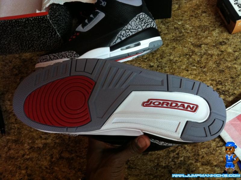quality design f1c91 f59a6 Air Jordan III Retro Black/Cement Grey from Air-Randy and ...
