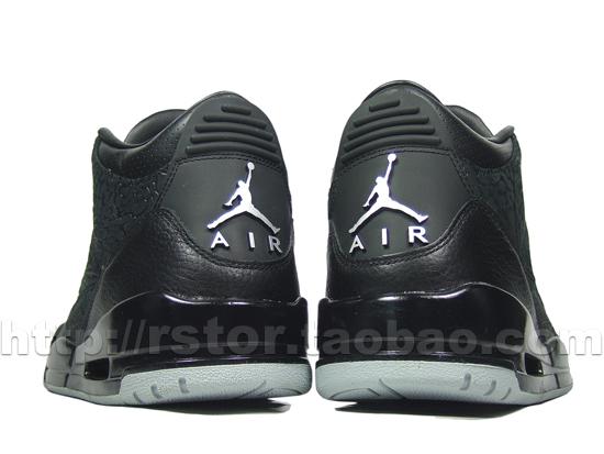 8550c9a2adc3a7 Men Air Jordan 3 Retro Black Flip