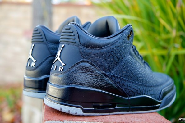 Air Jordan III (3) Retro Color  Black Metallic Silver Style  315767-001.  Release  12 03 2011. Color   175.00 60d0e866c