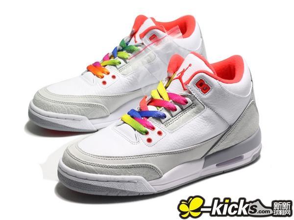 """9638fe736a0f Air Jordan Retro 3 iii """"True Blue"""" Shoes GS Kids 854261-106   Men s  854262-106"""