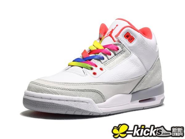 "77b0e6f832ba Air Jordan Retro 3 iii ""True Blue"" Shoes GS Kids 854261-106   Men s  854262-106"