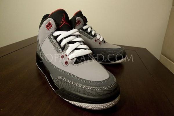newest 0aa31 df36a Nike Air Jordan 3 III Retro Stealth, 136064-003, Shoes, ...
