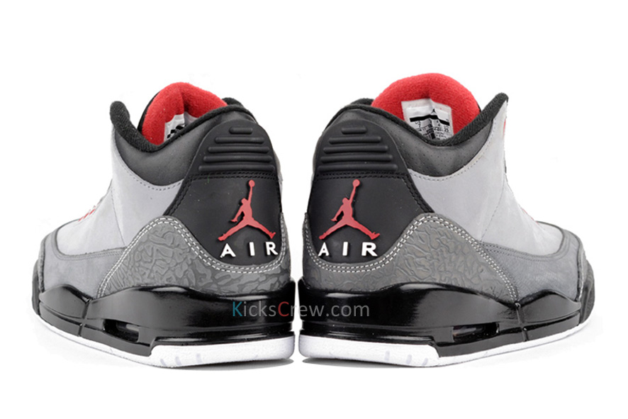 buy popular 59675 fb6f4 Nike Air Jordan 3 Retro Stealth Varsity Red Black