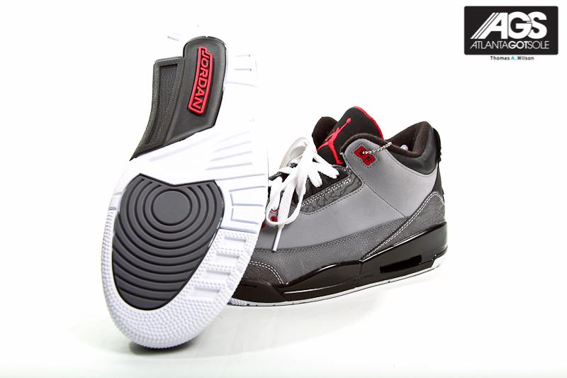... lower price with e46c7 5da7f 2011 Nike Air Jordan 3 III Retro Grey  Stealth US Size ... 27a5d071c7ae