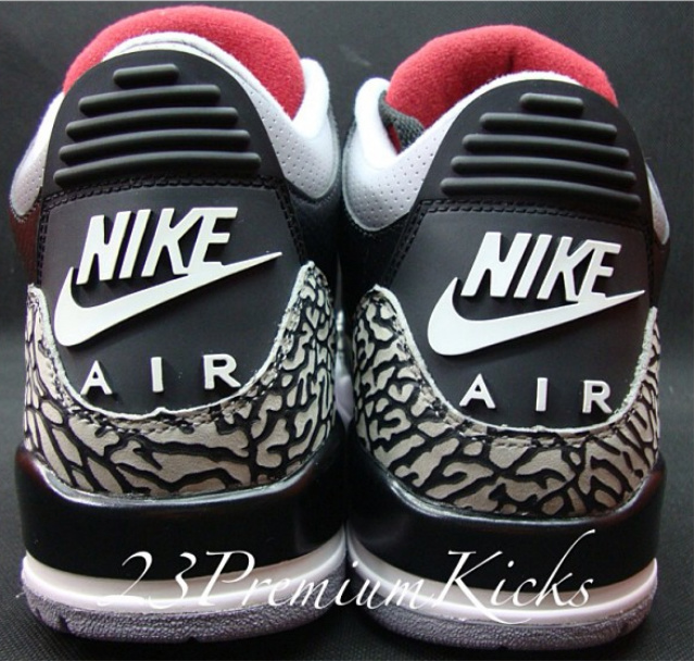 a36ac093e96cf8 Air Jordan III (3) Retro  88 Black Cement