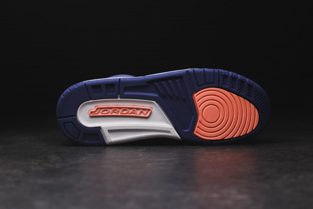 on sale 91959 4c147 KIDS Nike Air Jordan 3 Retro III Size 6 Black Bright Crimson Purple