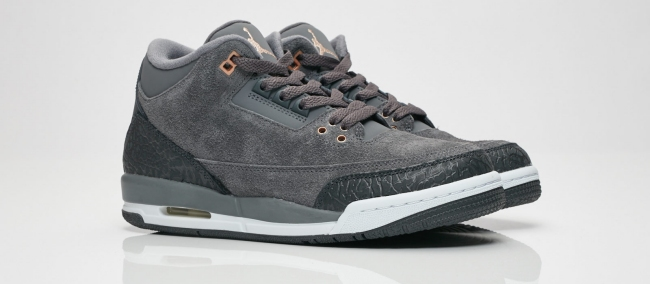 air jordan 3 dark grey