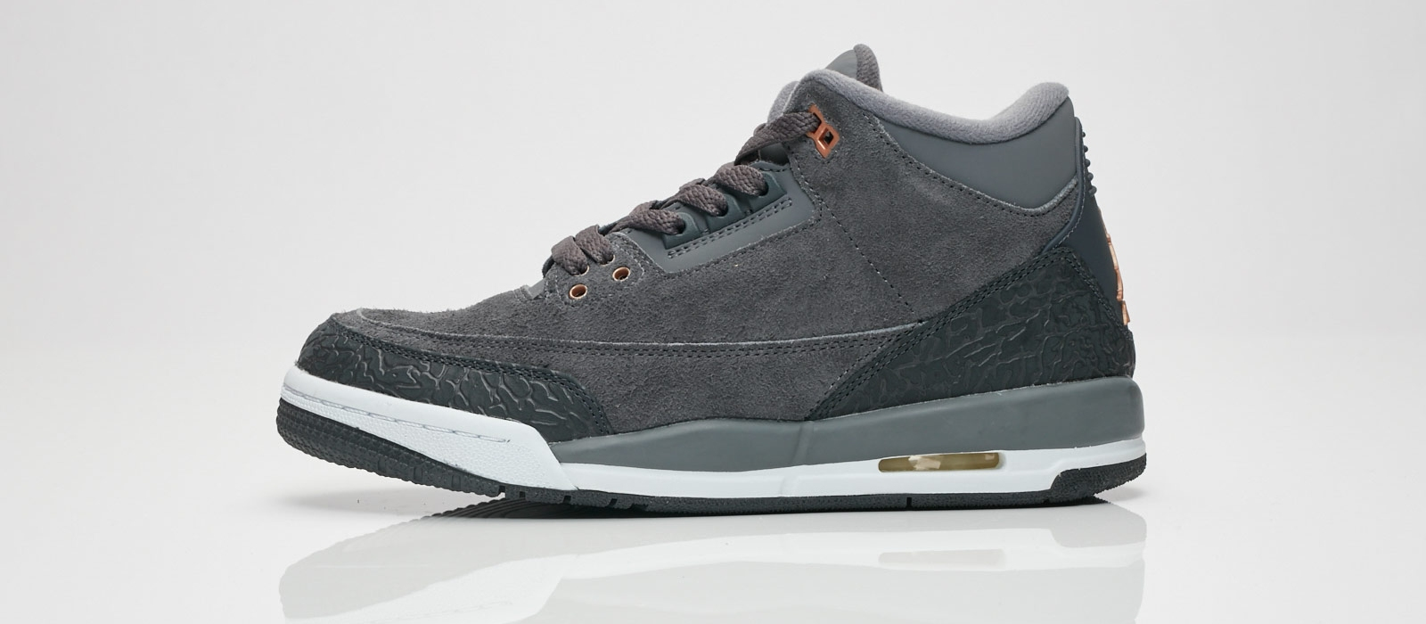 uk availability 226b6 4fb0f Air Jordan 3 Retro GS Color  Dark Grey Metallic Red Bronze-White Style  Code  441140-035. Release Date  10 07 2017. Price   140.00