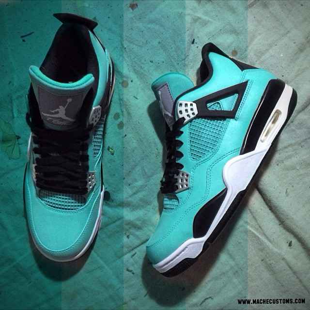 12476cb09eb5 air jordan 4 retro tiffany blue MIDSOLE  Forefoot Phylon foam