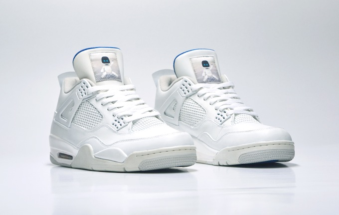 51418b Air Jordan Iv All White Nikes Discount All White Air Jordan 4