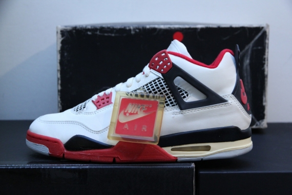ccda747a549 Air Jordan IV Retro White Fire Red - 2012