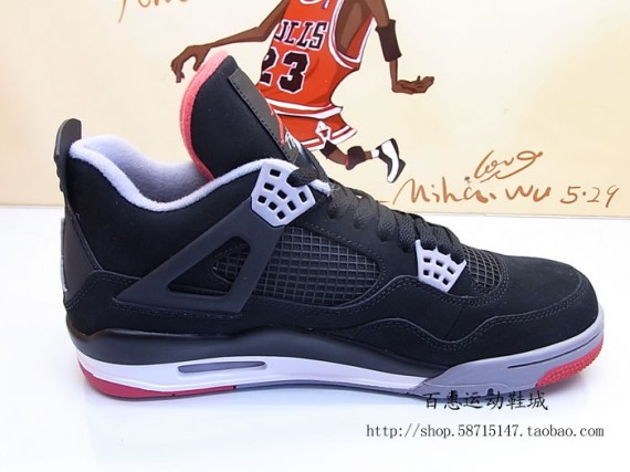 Air Jordan Iv Bred 2012 For Sale  461b84f51112