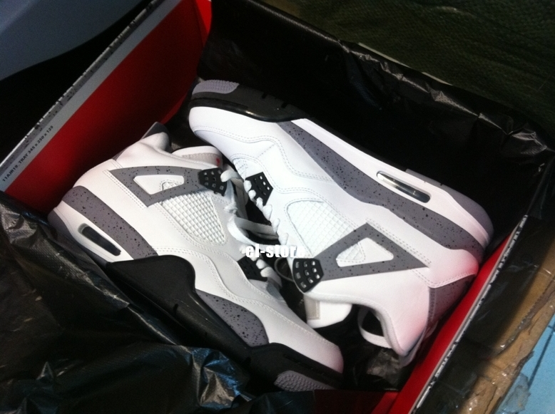 Air Jordan IV Retro White Cement 2012 Packaging 1c8bec565