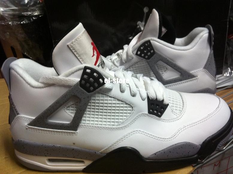 Jordan 4 Cement Grey