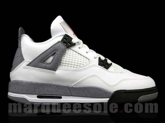 huge selection of b789f 026fe Air Jordan Retro White Cement 4 IV SIZE 6.5 OG Box