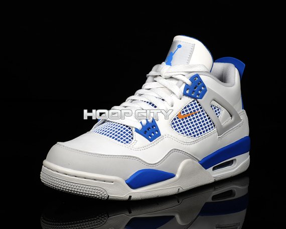 Air Jordan 4 (IV) Retro Color  White Neutral Grey-Military Blue Style   308497-105. Release  06 09 2012. Price   160.00 15a575d89