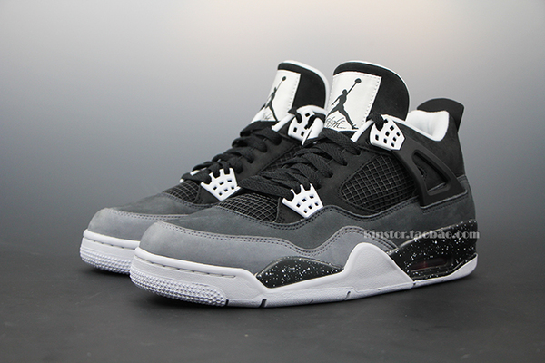 air jordan 4 oreo aj4 white cement