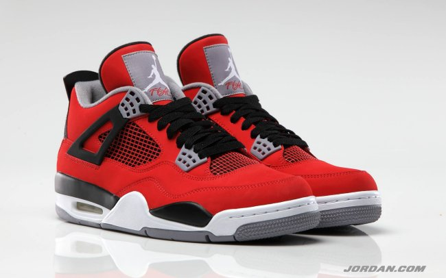 e36bf13bc3f4 Air Jordan 4 (IV) Retro Color  Fire Red White-Black-Cement Grey Style   308497-603. Release  07 13 2013. Price   160.00