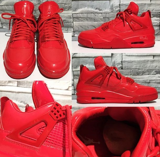 d0cbb4be1e6c Air Jordan Retro 4 11LAB4 red Sz 11.5 (university red)( 719864-600)