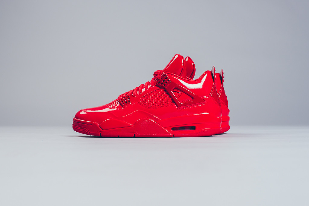 finest selection 62a55 d8f88 Nike Air Jordan 11Lab4 University Red Patent Leather Size 12 Free shipping
