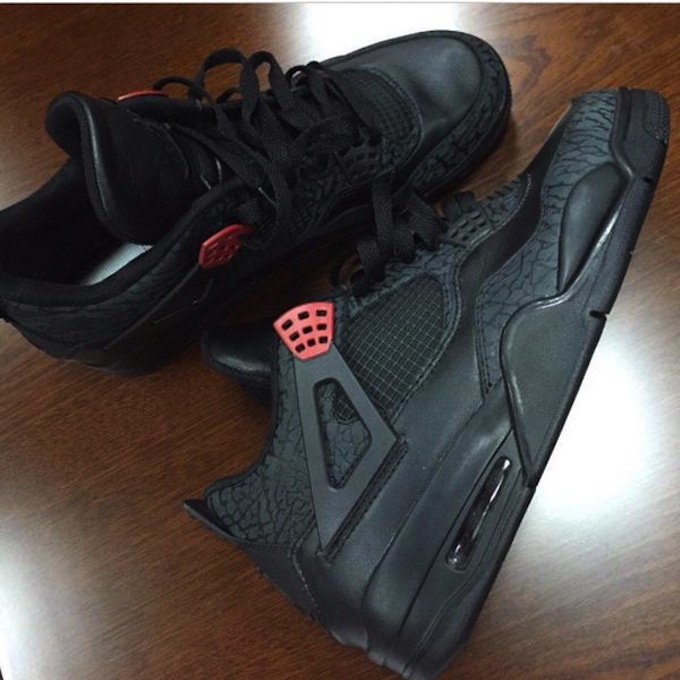 watch 16d9a d3f57 Air Jordan 3Lab4 Color  Black Black-Infrared 23