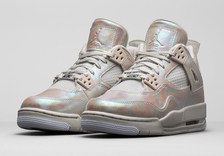 "Girls  Air Jordan 4 (IV) Retro 30th Anniversary ""Pearl"" Images and Release  Date c2f8a987653"