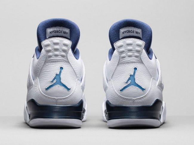 new styles e12f9 e7d3c Nike Air Jordan 4 IV Legend Blue Columbia size 12