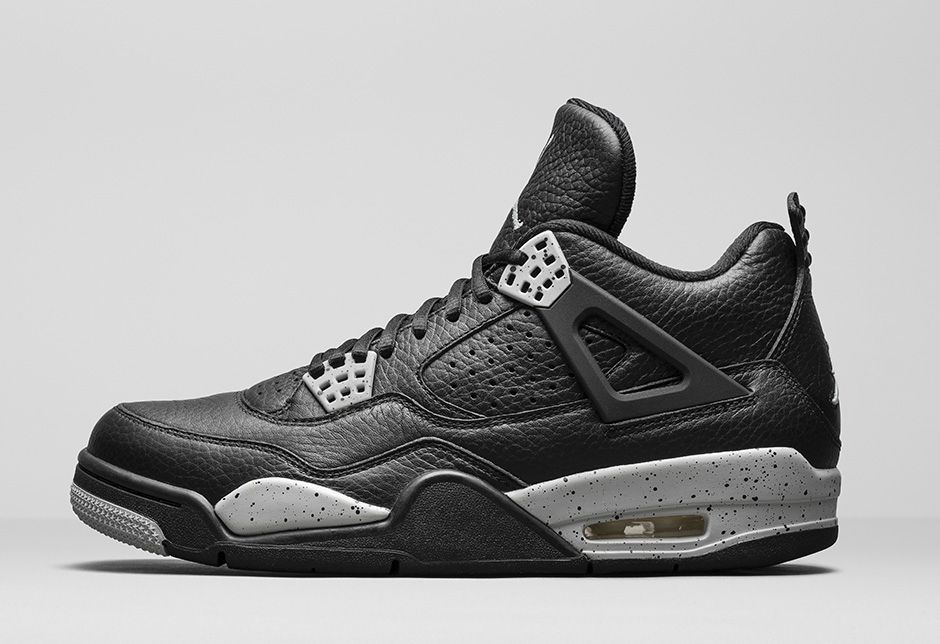 Retro 4 Black And Grey  93c1637172c2