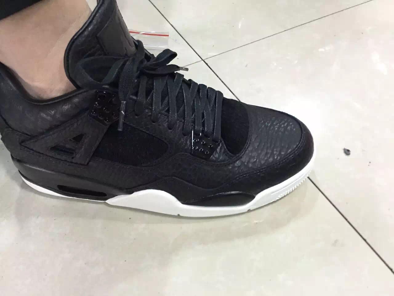0dff888d40c059 Air Jordan 4 Retro Premium Black Release Info