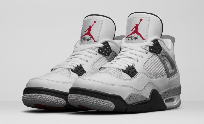 air jordan iv retro white cement release date