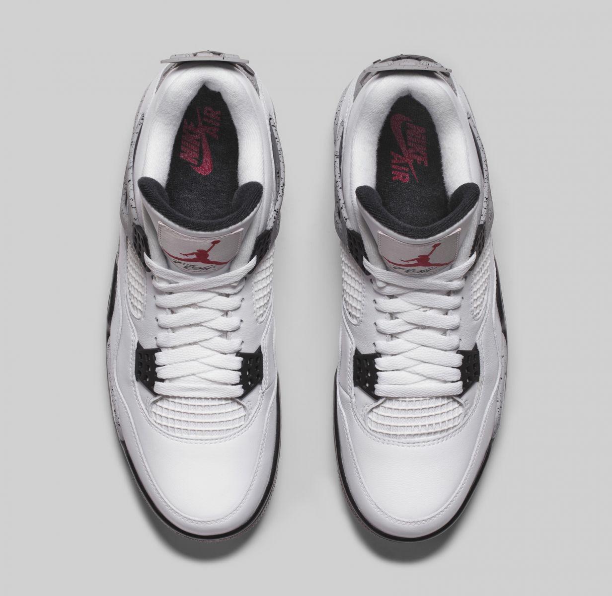 690a9bc6f0dbd0 Air Jordan IV Retro White Cement Release Date