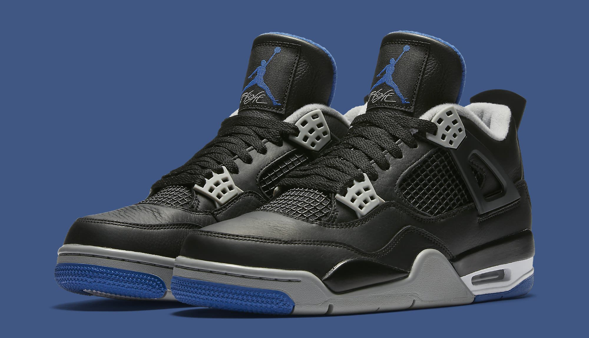 Air Jordan 4 Black Royal Release Date - Air 23 - Air Jordan Release ... 3fca494d9167