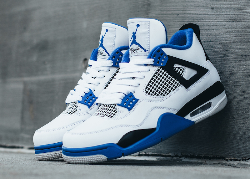 521070dc6ba0 air jordan 4 jordan motorsports. Air Jordan 4 (IV) Retro Color  White Game  Royal-Black