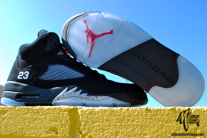 newest e98cc ce701 Air Jordan V Retro Black Metallic Silver – Almost Here!
