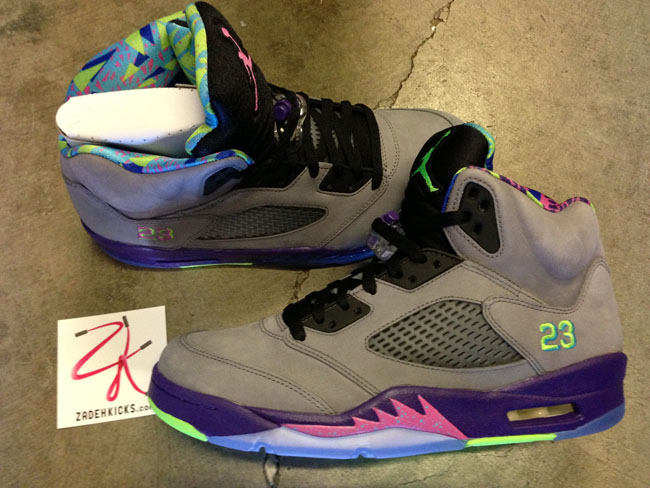 "huge selection of b042d 6dcc6 Air Jordan 5 (V) Retro ""Bel-Air"" – New Pics"