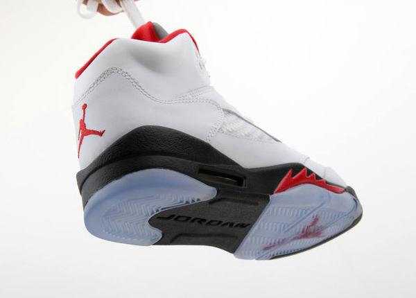 hot sale online 4ea60 1b6c8 Air Jordan 5 (V) Retro Color  White Fire Red-Black Style  136027-100.  Release  01 26 2013. Price   160.00